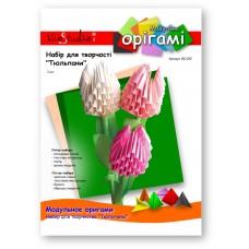 """Тюльпан, набор для творчества, серия """"Модульное оригами"""" /OK-020/ 101020 - TM VAOSTUDIO"""