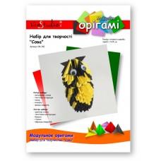 """Сова, набор для творчества, серия """"Модульное оригами"""" /OK-240/ 101240 - TM VAOSTUDIO"""