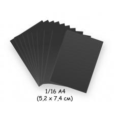 Бумага для модульного оригами черная, 5,2х7,4 см, 200 л., 80г/м2 /OP-181/ 102181 - TM VAOSTUDIO