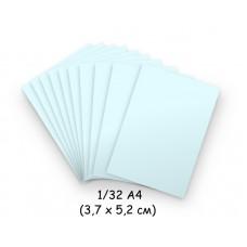 Бумага для модульного оригами голубая, 3,7х5,2 см, 200 л., 80г/м2 /OP-233/102233 - TM VAOSTUDIO
