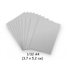 Бумага для модульного оригами серая, 3,7х5,2 см, 200 л., 80г/м2 /OP-285/ 102285 - TM VAOSTUDIO