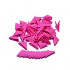 Треугольные модули для модульного оригами, красный (неон), 1/32 А4 (3,7 х 5,2 см), 100шт., 80г/м2 /OP-319/ 102319 - TM VAOSTUDIO