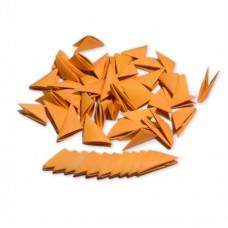 Треугольные модули для модульного оригами, оранжевый, 1/32 А4 (3,7 х 5,2 см), 100шт., 80г/м2 /OP-321/ 102321 - TM VAOSTUDIO