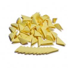 Треугольные модули для модульного оригами, желтый (пастельный), 1/32 А4 (3,7 х 5,2 см), 100шт., 80г/м2 /OP-324/ 102324 - TM VAOSTUDIO