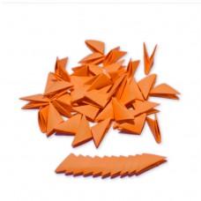 Треугольные модули для модульного оригами, оранжевый (неон), 1/32 А4 (3,7 х 5,2 см), 100шт., 80г/м2 /OP-328/ 102328 - TM VAOSTUDIO