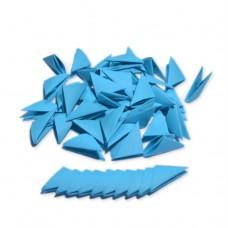 Треугольные модули для модульного оригами, синий (интенсивный), 1/32 А4 (3,7 х 5,2 см), 100шт., 80г/м2 /OP-132/ 102332 - TM VAOSTUDIO