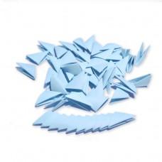 Треугольные модули для модульного оригами, голубой, 1/32 А4 (3,7 х 5,2 см), 100шт., 80г/м2 /OP-333/ 102333 - TM VAOSTUDIO
