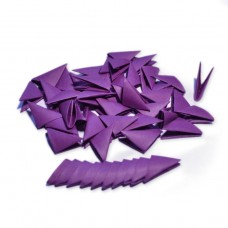 Треугольные модули для модульного оригами, красно-фиолетовый (ежевичный), 1/32 А4 (3,7 х 5,2 см), 100шт., 80г/м2 /OP-341/ 102341 - TM VAOSTUDIO