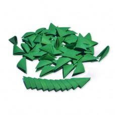 Треугольные модули для модульного оригами, темно-зеленый, 1/32 А4 (3,7 х 5,2 см), 100шт., 80г/м2 /OP-351/ 102351 - TM VAOSTUDIO