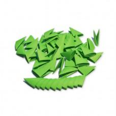 Треугольные модули для модульного оригами, зеленый (интенсивный), 1/32 А4 (3,7 х 5,2 см), 100шт., 80г/м2 /OP-352/ 102352 - TM VAOSTUDIO