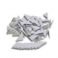 Треугольные модули для модульного оригами, серый, 1/32 А4 (3,7 х 5,2 см), 100шт., 80г/м2 /OP-385/ 102385 - TM VAOSTUDIO