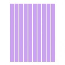 Набор полосок бумаги для квиллинга, 1 цвет (сиреневый), 1,5х295 мм, 160 г/м2, 100 шт. /QP-160-42-01/ 105042 - TM VAOSTUDIO