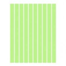 Набор полосок бумаги для квиллинга, 1 цвет (зеленый пастель), 1,5х295 мм, 160 г/м2, 100 шт. /QP-160-53-01/ 105053 - TM VAOSTUDIO
