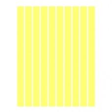 Набор полосок бумаги для квиллинга, 1 цвет (желтый пастель), 5х295 мм, 160 г/м2, 100 шт. /QP-160-24-05/ 107024 - TM VAOSTUDIO
