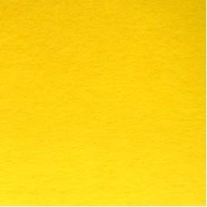 Фетр листовой, производство Китай, 20х30 см, толщина 1 мм, 100% полиэстер, желтый / 233006