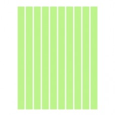 Набор полосок бумаги для квиллинга, 1 цвет (зеленый пастель), 3х295 мм, 160 г/м2, 100 шт. /QP-160-53-03/ 106053 - TM VAOSTUDIO