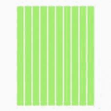Набор полосок бумаги для квиллинга, 1 цвет (зеленый неон), 3х295 мм, 160 г/м2, 100 шт. /QP-160-59-03/ 106059 - TM VAOSTUDIO