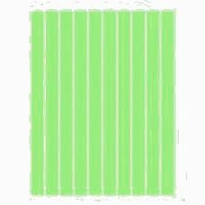 Набор полосок бумаги для квиллинга, 1 цвет (зеленый неон), 5х295 мм, 160 г/м2, 100 шт. /QP-160-59-05/ 107059 - TM VAOSTUDIO