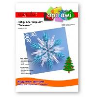 """Снежинка, набор для творчества, серия """"Модульное оригами"""" /OK-201/ 101201 - TM VAOSTUDIO"""
