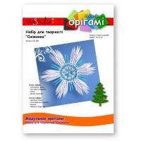 """Снежинка, набор для творчества, серия """"Модульное оригами"""" /OK-206/ 101206 - TM VAOSTUDIO"""