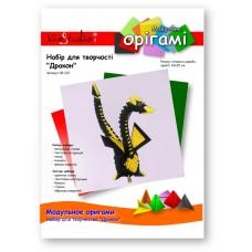 """Дракон (черно-желтый), набор для творчества, серия """"Модульное оригами"""" /OK-222/ 101222 - TM VAOSTUDIO"""