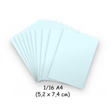 Бумага для модульного оригами голубая, 5,2х7,4 см, 200 л., 80г/м2 /OP-133/ 102133 - TM VAOSTUDIO