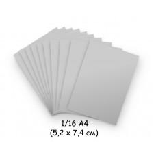 Бумага для модульного оригами серая, 5,2х7,4 см, 200 л., 80г/м2 /OP-185/ 102185 - TM VAOSTUDIO