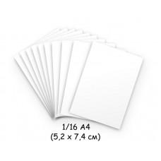 Бумага для модульного оригами белая, 5,2х7,4 см, 200 л., 80г/м2 /OP-189/ 102189 - TM VAOSTUDIO