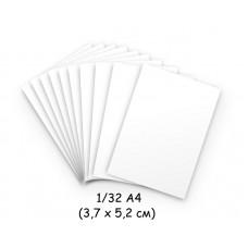 Бумага для модульного оригами белая, 3,7х5,2 см, 200 л., 80г/м2 /OP-289/ 102289 - TM VAOSTUDIO
