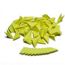 Треугольные модули для модульного оригами, желтый (неон), 1/32 А4 (3,7 х 5,2 см), 100 шт., 80 г/м2 /OP-329/ 102329 - TM VAOSTUDIO