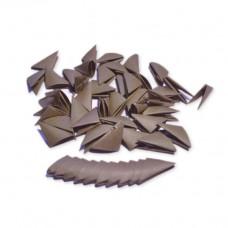 Треугольные модули для модульного оригами, коричневый, 1/32 А4 (3,7 х 5,2 см), 100 шт., 80 г/м2 /OP-382/ 102382 - TM VAOSTUDIO