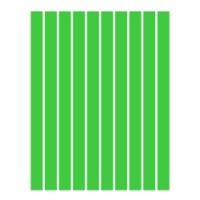 Набор полосок бумаги для квиллинга, 1 цвет (зеленый интенсив), 1,5х295 мм, 160 г/м2, 100 шт. /QP-160-52-01/ 105052 - TM VAOSTUDIO