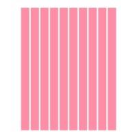 Набор полосок бумаги для квиллинга, 1 цвет (розовый неон), 1,5х295 мм, 160 г/м2, 100 шт. /QP-160-69-01/ 105069 - TM VAOSTUDIO