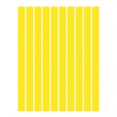 Набор полосок бумаги для квиллинга, 1 цвет (желтый интенсив), 3х295 мм, 160 г/м2, 100 шт. /QP-160-23-03/ 106023 - TM VAOSTUDIO