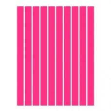 Набор полосок бумаги для квиллинга, 1 цвет (красный неон), 5х295 мм, 160 г/м2, 100 шт. /QP-160-19-05/ 107019 - TM VAOSTUDIO