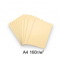 Бумага А4 160г/м2 слоновая кость,1 лист /113251