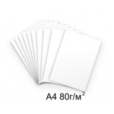 Бумага А4 80г/м2 белая,1 лист /114891