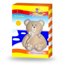 """Набор для творчества """"Медвеженок светло-коричневый"""", серия """"Мягкая игрушка своими руками"""" /TK-020/ 201020 - TM VAOSTUDIO"""