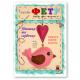 Птичка с сердечком, набор для творчества из ФЕТРА / 201245 - TM VAOSTUDIO