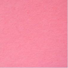 Фетр листовой, производство Китай, 20х30 см, толщина 1 мм, 100% полиэстер, розовый / 233004