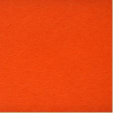 Фетр листовой, производство Китай, 20х30 см, толщина 1 мм, 100% полиэстер, оранжевый / 233005