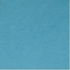 Фетр листовой, производство Китай, 20х30 см, толщина 1 мм, 100% полиэстер, голубой / 233009