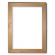 Деревянная рамка А4. Внутренний размер - 210x297 мм. Ширина профиля - 30 мм.