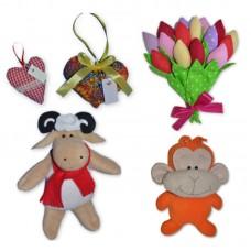 Изготовление мягких игрушек для корпоративных подарков